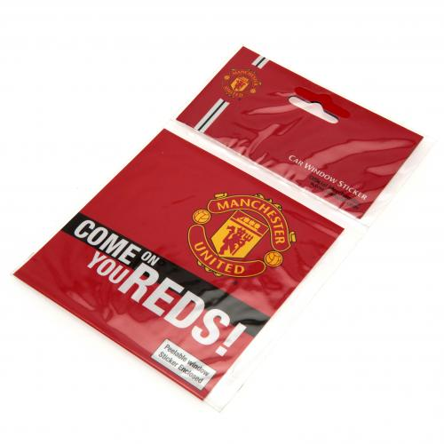Manchester United F.C. Window Sticker SQ