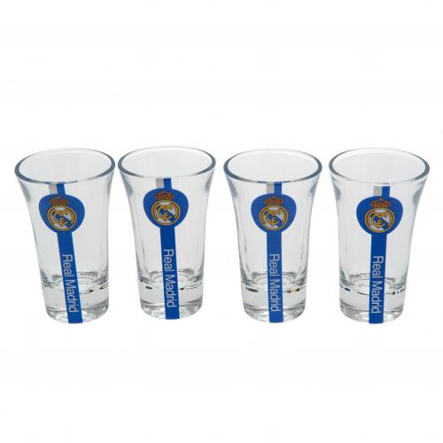 Real Madrid F.C. Shot Glass Set