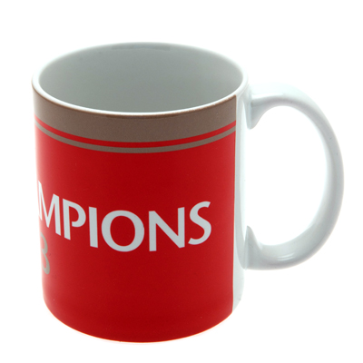 Manchester United F.C. Champions Mug