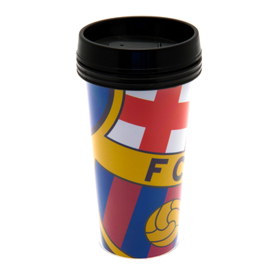 F.C. Barcelona Plastic Travel Mug