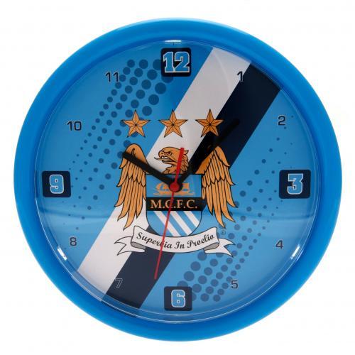 Manchester City F.C. Wall Clock ST