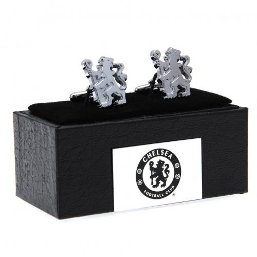 Chelsea F.C. Cufflinks Chrome