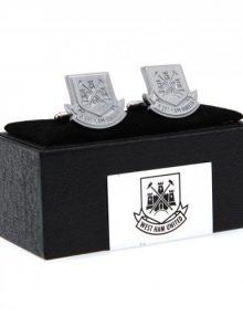 West Ham United F.C. Cufflinks Chrome