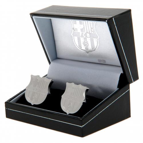 F.C. Barcelona Stainless Steel Cufflinks CR