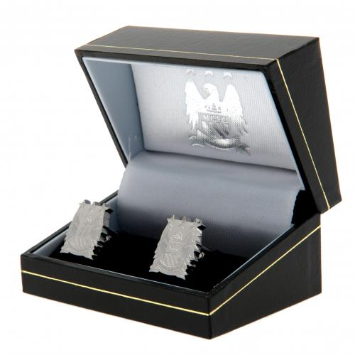 Manchester City F.C. Stainless Steel Cufflinks CR