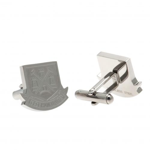 West Ham United F.C. Stainless Steel Cufflinks CR