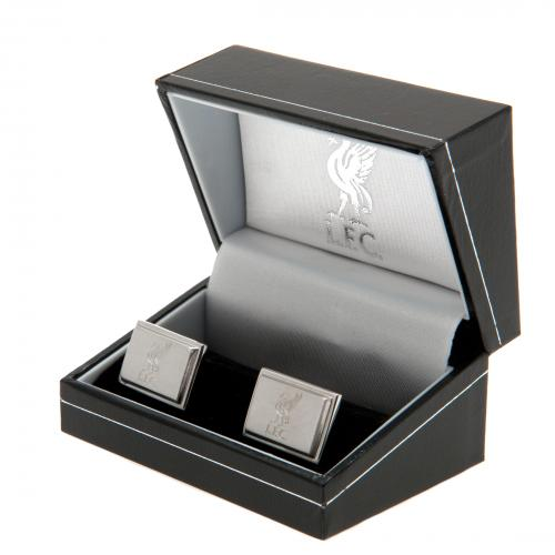 Liverpool F.C. Stainless Steel Cufflinks LB
