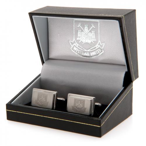 West Ham United F.C. Stainless Steel Cufflinks