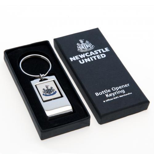 Newcastle United F.C. Keyring Bottle Opener
