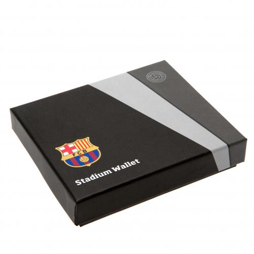 F.C. Barcelona Embossed Leather Wallet Panoramic