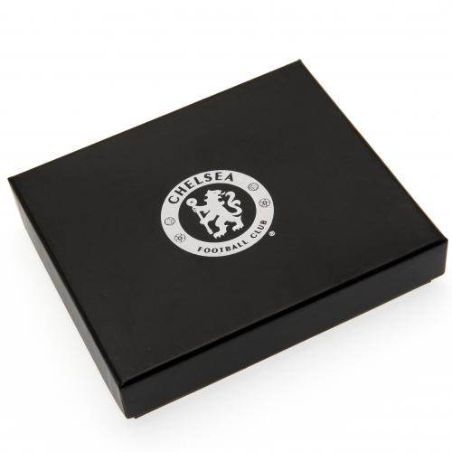 Chelsea F.C. Embossed Leather Wallet Panoramic