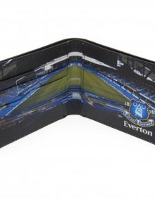 Everton F.C. Embossed Leather Wallet Panoramic