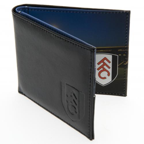 Fulham F.C. Embossed Leather Wallet Panoramic
