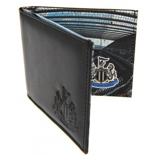 Newcastle United F.C. Leather Wallet Panoramic