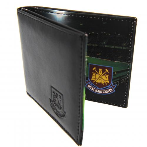 West Ham Utd F.C. Leather Wallet Panoramic