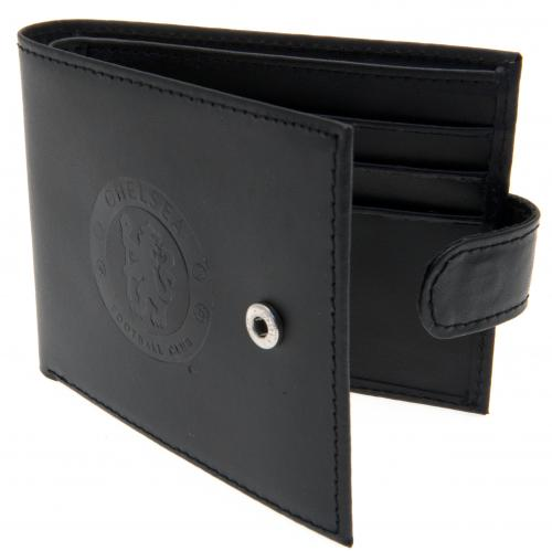 Chelsea F.C. Embossed Leather Wallet