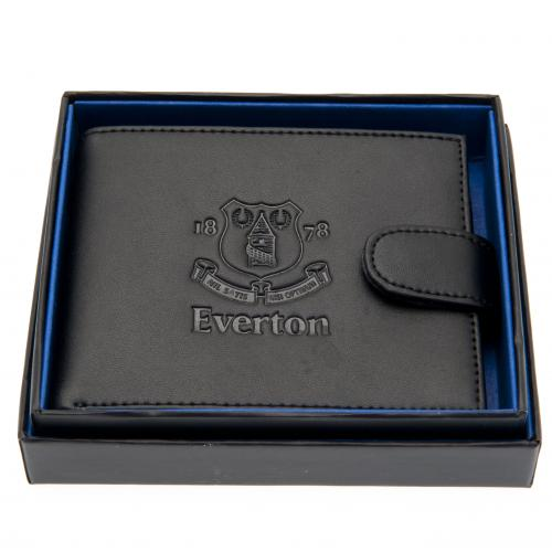 Everton F.C. Embossed Leather Wallet