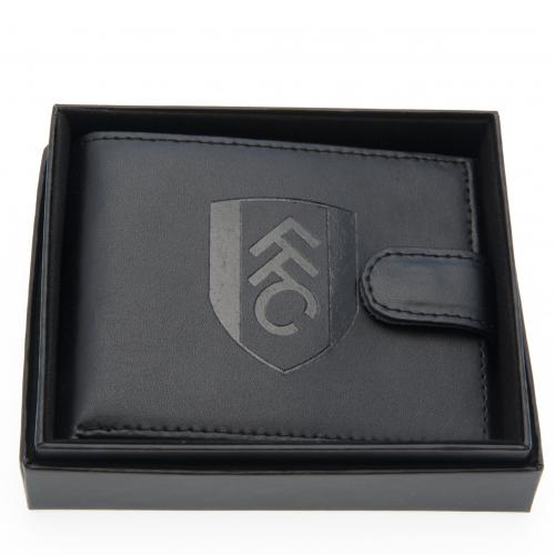Fulham F.C. Embossed Leather Wallet