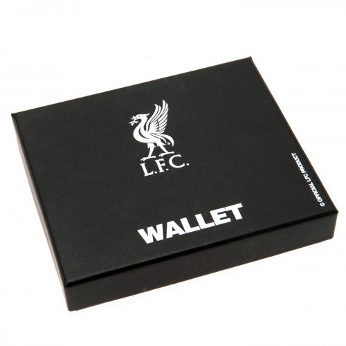 Liverpool F.C. Embossed Crest Leather Wallet