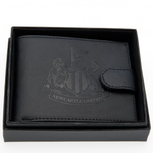 Newcastle United F.C. Embossed Leather Wallet