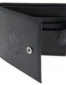West Ham United F.C. Embossed Leather Wallet