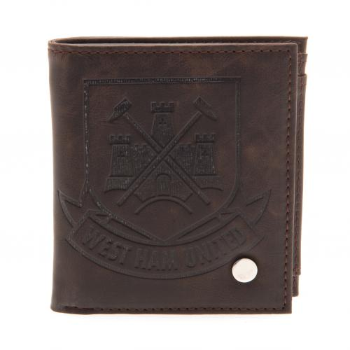 West Ham United F.C. Luxury Lined Wallet