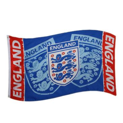 England F.A. Flag Blue