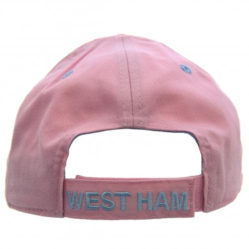 West Ham United F.C. Ladies Cap Pink