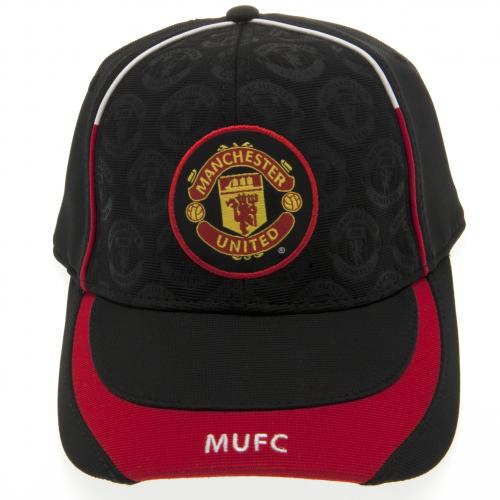 Manchester United F.C. Cap DB BLK