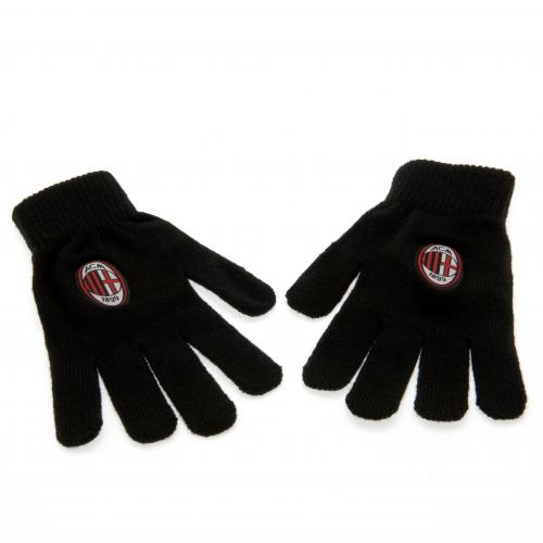 A.C. Milan Knitted Gloves Junior