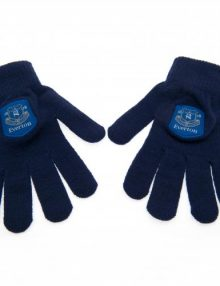 Everton F.C Knitted Gloves Junior