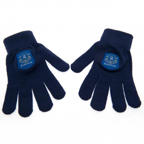 Everton F.C Knitted Gloves Junior