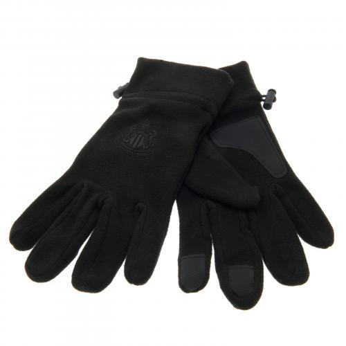 Newcastle United F.C Fleece Gloves Adult