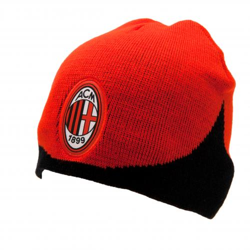 A.C. Milan Knitted Hat WN - Monster Sports 43609764c71f