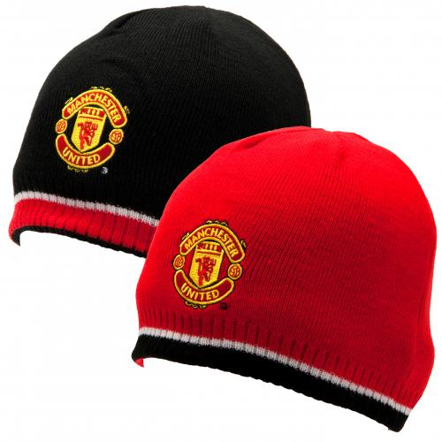 Manchester United F.C. Reversible Knitted Hat