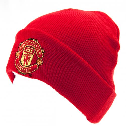 Manchester United F.C. Knitted Hat TU RD