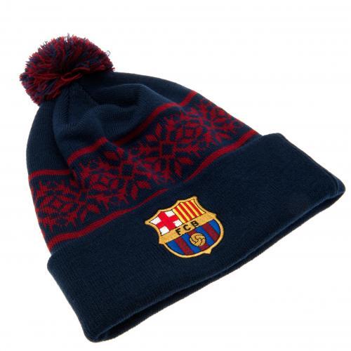 F.C. Barcelona Ski Hat