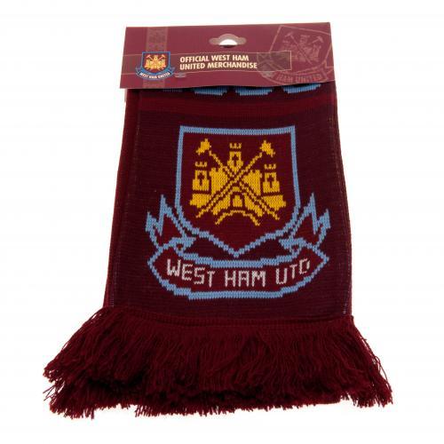 West Ham United F.C. Scarf NR