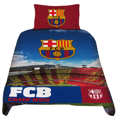F.C. Barcelona Stadium Duvet Set
