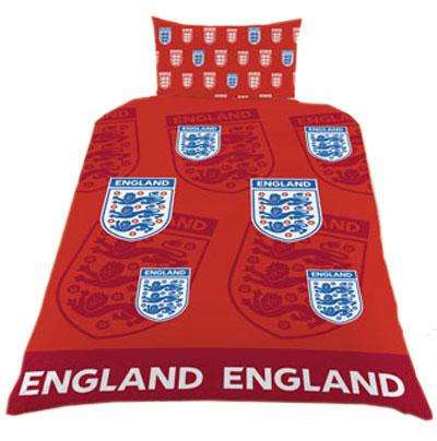 England F.A. Multi Crest Duvet Set