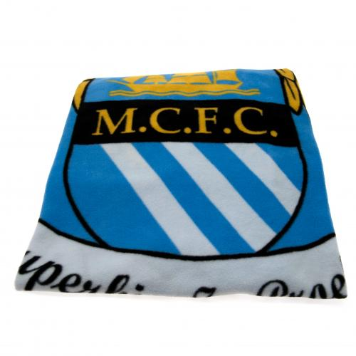 Manchester City F.C. Fleece Blanket