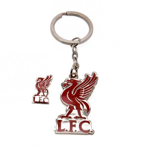 Liverpool F.C. Keyring & Badge set LB