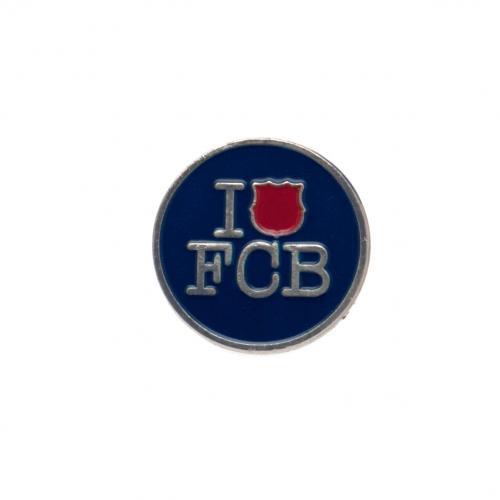 F.C. Barcelona Badge I Love FCB