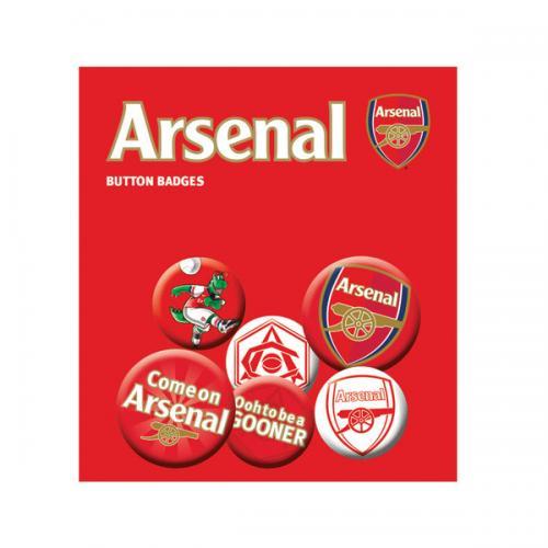 Arsenal F.C. Button Badge Set
