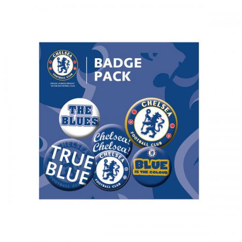 Chelsea F.C. Button Badge Set