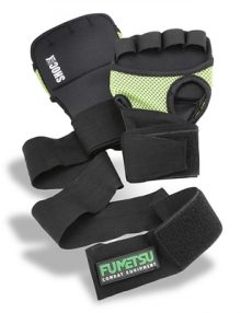 Fumetsu Gel Shock Fusion Hand Wraps - Black