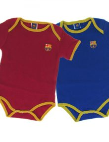 F.C. Barcelona 2 Pack Bodysuit No 10