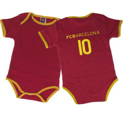 F.C. Barcelona 2 Pack Bodysuit No 10