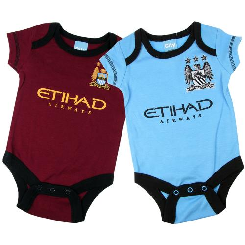 Manchester City F.C. 2 Pack Bodysuit SB