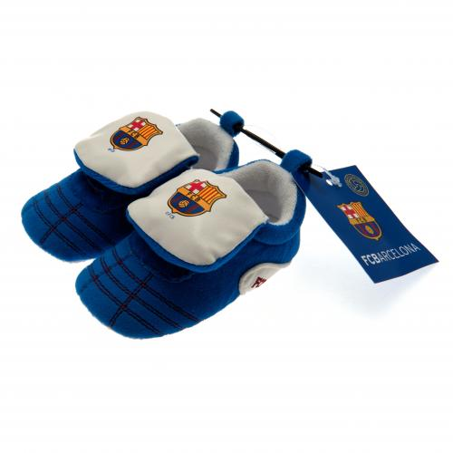 F.C. Barcelona Velcro Boot Crib